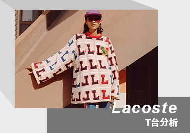 The Combination of Sports and Fashion -- The Womenswear Catwalk Analysis of Lacoste