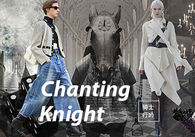 Chanting Knight -- The Fabric Trend for A/W 22/23 Womenswear Theme