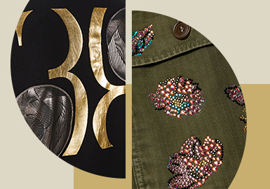 Visual Focus -- The Pattern Craft Trend for Menswear and Womenswear