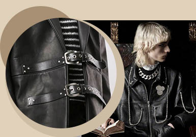 Metal Decoration -- The Accessory Trend for Men's Leather