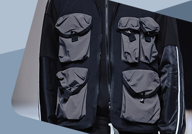Practical Innovation -- The Detail Craft Trend for Menswear Pocket
