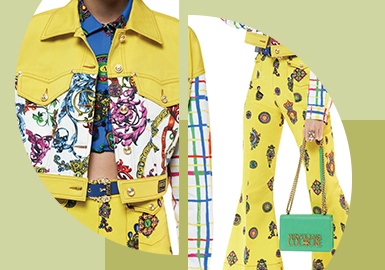 Mainstream Printing & Embroidery -- The Pattern Craft Trend for Women's Denim