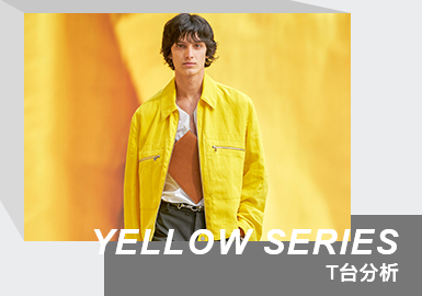 The Color Analysis of Menswear Runway (Yellow Series)