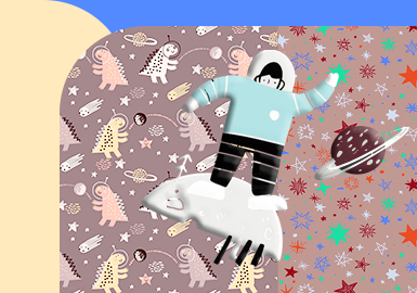 Space Odyssey -- The Pattern Trend for Infants' Wear