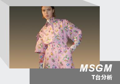 Romance & Avant-garde -- The Womenswear Runway Analysis of MSGM