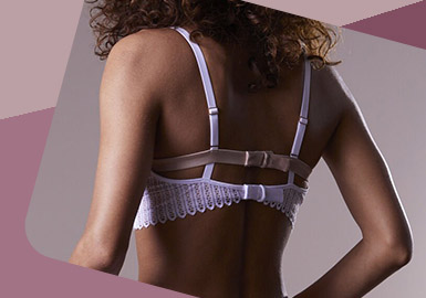 Delicate Back Design -- The Craft Detail Trend for Women's Underwear