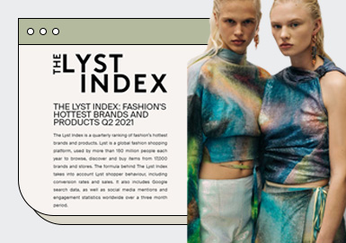 THE LYST INDEX --  Fashion's Hottest Brands and Products Q2 2021
