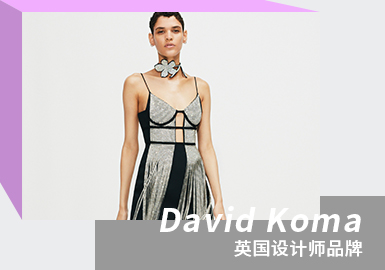 Flashy Sexual Appeal -- The Analysis of DAVID KOMA The Womenswear Designer Brand