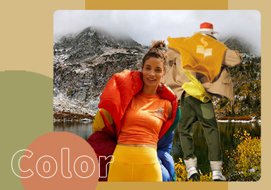 Urban Outdoor -- The Color Trend for Outdoor Sport