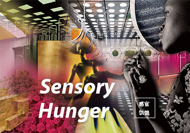 Sensory Hunger -- The Pattern Trend for A/W 22/23 Theme