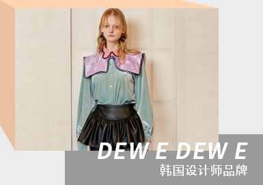Romantic & Retro Girl -- The Analysis of DEW E DEW E The Womenswear Designer Brand