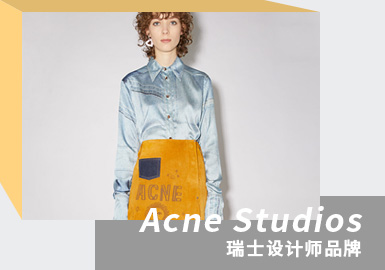 Diverse Faces -- The Analysis of Acne Studios The Womenswear Designer Brand