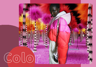 Warm Touch -- The Color Trend for Women's Puffer Jacket