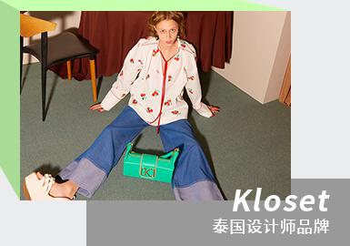 Refreshing and Retro Girl--The Analysis of KLOSET Womenswear Designer Brand