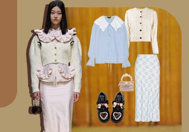Sweet Young Lady -- The Clothing Collocation of Womenswear