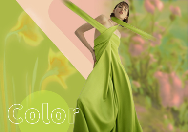 Tender Shoots -- The Color Trend for Womenswear