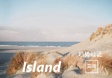 Island -- The Color Trend Confirmation of Menswear Theme