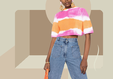 Refreshing T-shirt -- The Item Trend for Women's Knitwear