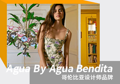 Passionate Southern America -- The Analysis of Agua By Agua Bendita The Women's Swimsuit Designer Brand