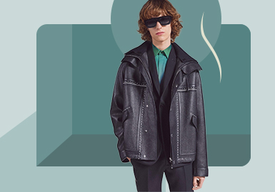 Practical Light Business -- The Silhouette Trend for Men's Leather