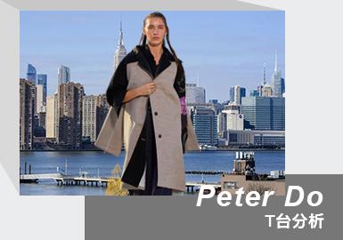 Purity & Minimalism -- The Womenswear Runway Analysis of PETER DO