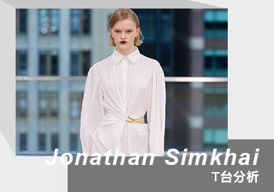 Möbius Strip -- The Womenswear Runway Analysis of Jonathan Simkhai