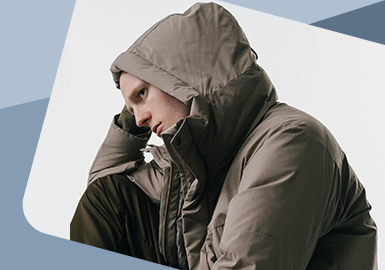 Functional Hood -- The Detail Craft Trend for Menswear