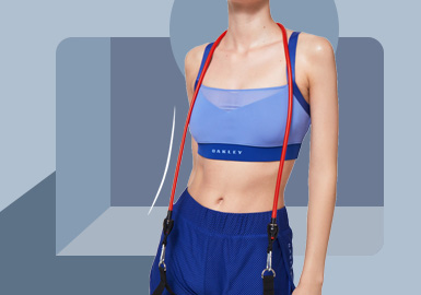 Free Exploration -- The Silhouette Trend for Sports Bra