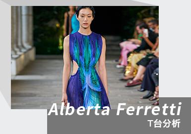 Spring Romance -- The Womenswear Runway Analysis of Alberta Ferretti