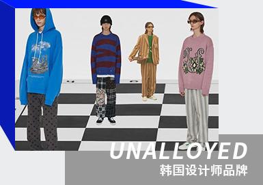 Unisex Preppy Style -- The Analysis of UNALLOYED The Korean Designer Brand