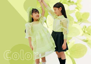 Daiquiri Green -- The Color Trend for Girls