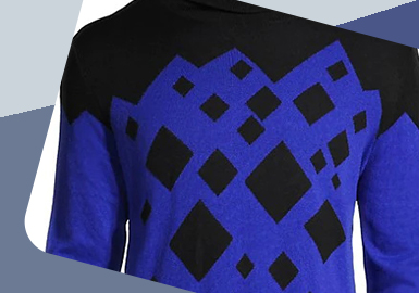 Dot, Line and Surface -- The Detail Craft Trend for Men's Knitwear
