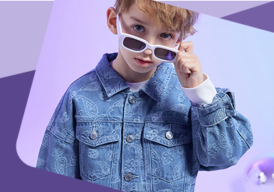 Patterns Tell Newness -- The Pattern Craft Trend for Kids' Denim