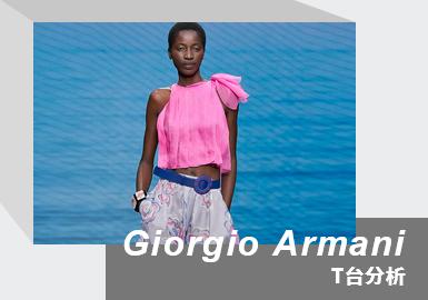 Midsummer Voyage -- The Womenswear Runway Analysis of Giorgio Armani