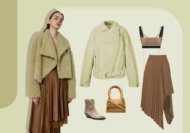 Urban Elegancy -- The Clothing Collocation of Women's Fur