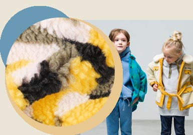 To Be Fun and Warm -- The Fabric Trend for Toddlers' Outerwear