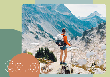 Walk Through the Most North-West -- The Color Trend for Men's & Women's Outdoor Clothing