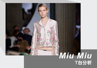 Rebellious Office Worker -- The Womenswear Runway Analysis of Miu Miu