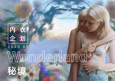 Wonderland -- The Design Development of Women's Underwear & Loungewear