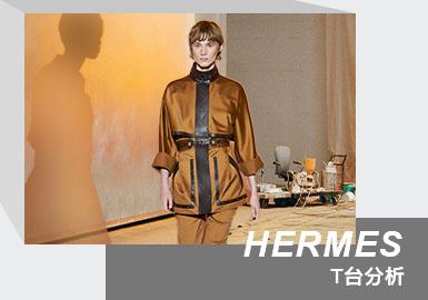 When the Sun Sets -- The Womenswear Runway Analysis of Hermès