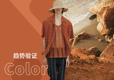 Gold Flame -- The Color Trend for Menswear