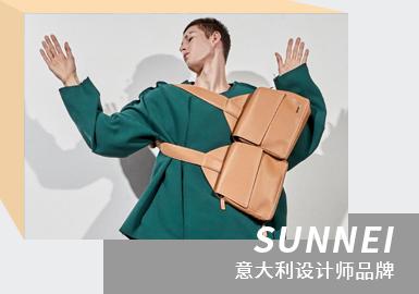 Crash on the Screen -- The Analysis of SUNNEI The Menswear Designer Brand