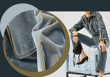 Retro Fashion -- The Fabric Trend for A/W 22/23 Corduroy