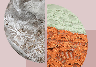 Floral Lace -- The Pattern Craft Trend for Women's Lace Underwear