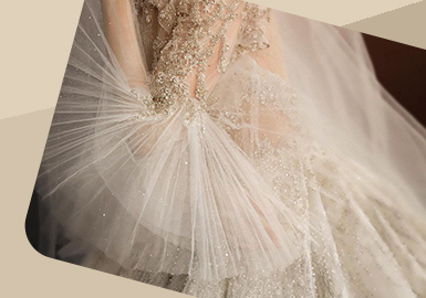 Fairy in the Wood -- The Detail Trend for Wedding Dress