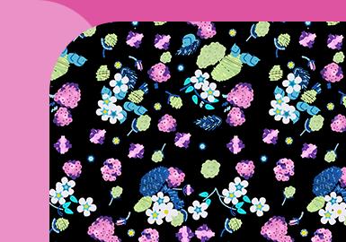 Midnight Wild Florals -- The Pattern Trend for Womenswear