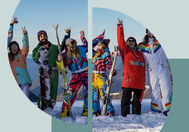 Gallop across the Ski Slope -- The Pattern Trend for Men's & Women's Skiwear