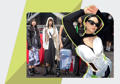 Being Free and Easy -- The Analysis of Shanghai Fashion Week Street Snap