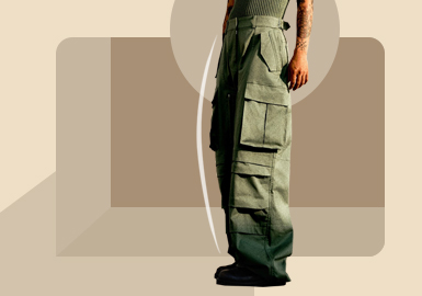 Charming Workwear -- The Silhouette Trend for Men's Trousers