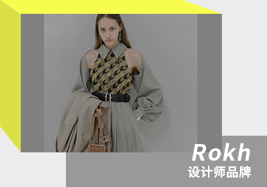 Blank-leaving and Deconstruction -- The Analysis of Rokh The Womenswear Designer Brand